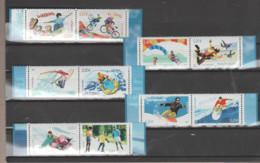 """FRANCE / 2004 / Y&T N° 3691/3700 ** : """"Sports De Glisse"""" (série Complète 10 TP - Tous BdF) X 1 - Non Classés"""