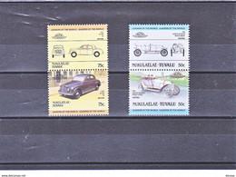 TUVALU NUKULAELAE 1985 VOITURES 4 Timbres Michel 29-30 + 57-58 NEUF** MNH - Tuvalu (fr. Elliceinseln)