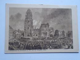 D176599 Dombrand Zu Frankfurt Am Main   Am 15 August 1867  - Postcard Photogravure - Frankfurt A. Main
