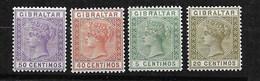 Gibraltar  N° 22; 25 ; 26 Et 30   Neufs * B/TB      Voir Scans  Soldé  Le Moins Cher Du Site  ! ! ! - Gibraltar