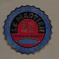 ETIQUETTE De FROMAGE.. Fabriqué En DAUPHINE.. Le Martien.. Production TERRIER & Cie Le Liers à EYDOCHE (38) - Formaggio