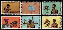 Botswana 1978 Yvert 367-72, Okavango Delta - MNH - Botswana (1966-...)