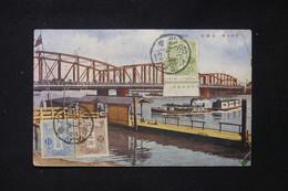 JAPON - Affranchissement Tricolore De Sendai Sur Carte Postale En 1923 Pour La France - L 87432 - Briefe U. Dokumente