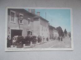 CPA DE NIVOLAS-VERMELLE Un Coin De La Grande Rue - Altri Comuni
