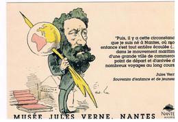 CPSM NANTES Musee Jules Verne - Nantes