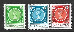 Gibraltar  N° 271  à 273     Neufs *  *    B/TB      Voir Scans  Soldé  Le Moins Cher Du Site  ! ! ! - Gibraltar