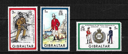 Gibraltar  N° 281  Et 282     Neufs *  *    B/TB  Le 283 Offert     Voir Scans  Soldé  Le Moins Cher Du Site  ! ! ! - Gibraltar