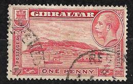 Gibraltar  N° 91      Oblitéré      B/TB      Voir Scans  Soldé  Le Moins Cher Du Site  ! ! ! - Gibraltar