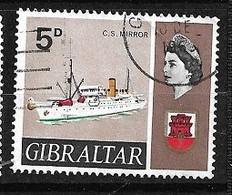 Gibraltar  N° 189A      Oblitéré      B/TB      Voir Scans  Soldé  Le Moins Cher Du Site  ! ! ! - Gibraltar