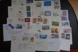 Lot De 50 Lettres De NOUVELLE CADELONIE - Collezioni & Lotti