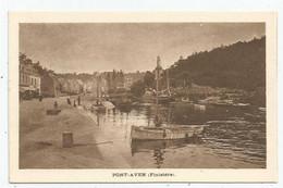 Pont - Aven  (29 - Finistère) Le Port . Pub Chemin De Fer ,ligne De Paris à Orléans - Pont Aven