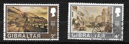 Gibraltar  N°245  Et 252      Oblitérés      B/TB      Voir Scans  Soldé  Le Moins Cher Du Site  ! ! ! - Gibraltar