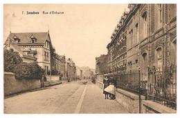 CPA - NAMUR  Jambes - Rue D'Enhaive - Dames Sur Le Seuil - Namur