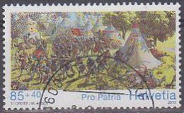 Schweiz 2010. Pro Patria: Schlacht Bei Murten (Burgunderkriege), 85+40, Mi 2160 Gebraucht - Usados