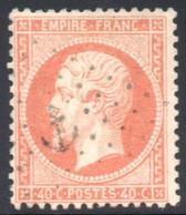 YT 23 - OBLITERATION MARITIME ANCRE - 1862 Napoléon III.