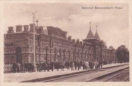 25376Bahnhof Baranowitschi – Nowa – 7-10-1917. (Links Unten Falte) - Weißrussland