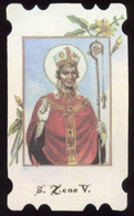 Santino Fustellato SAN ZENO VESCOVO - PERFETTO N9A1 - Religion & Esotericism