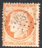 YT 38 - OBLITERATION PC GC - 3987 - 1870 Besetzung Von Paris