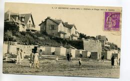 44 LA BERNERIe En RETZ Villas Chalets  Plage Vers Le Casino  Anim 1930 écrite Timb    /D06-2017 - La Bernerie-en-Retz
