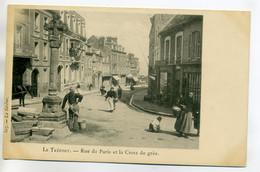 76 LE TREPORT Anim Pres Croix De Gres Rue De Paris 1904 -La Sirene No 307    /D06-2017 - Le Treport
