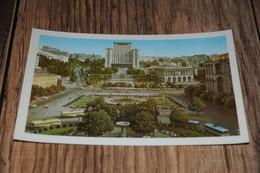 27836-               UKRAINE, KIEV  CCCP  URSS USSR , KALININ SQUARE / MOSKVA HOTEL / BUS - Ukraine