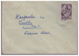 Russia,Estland .Estonia,Chess World Championship In Moscow 1948 Stamp On Cover,Suure-Rõude... - Lettres & Documents