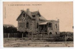 Plage De Brétignolles-Villa Paul-Maurice - Bretignolles Sur Mer