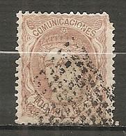 ESP 1870- Yv. N° 108  (o)  100m Allégorie Cote  8 Euro    2 Scans - Usados