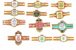 Reclame: Zwevezele - Cigar Bands