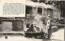 15 - CHAUDESAIGUES - Vue De La Grande Source Thermale De 85°... - Source Du Par (impeccable) - Other Municipalities