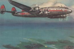 TWA Shannon Constellation Airline Issue Postcard - 1946-....: Modern Era