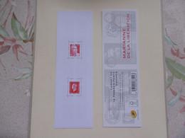 FRANCE    C1522   CARNET   TYPE  MARIANNE  DE LA LIBERATION    NON PLIE - Gelegenheidsboekjes