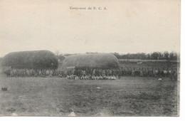 L100H137 - Campement Du BCA - B.C.A - Dirigeable Au Sol - ELD - Reggimenti