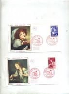 Lettre Fdc 1971 Tournus Croix Rouge - 1970-1979