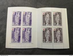 ⭐ Carnet CROIX-ROUGE 1976, Timbres NEUFS** - Excellent État Sans Charnières Eglise De Brou ⭐ - Red Cross