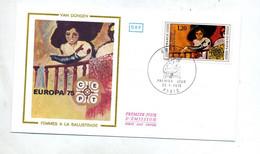 Lettre Fdc 1975 Paris Europa - 1970-1979