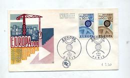 Lettre Fdc 1967 Paris Europa - 1960-1969