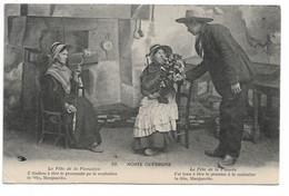 """L100H154 - Noste Ouvergne - """"La Fête De La Fiancée.."""" - Hirondelle N°59 - Personaggi"""