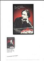 LOUISE MICHEL   AVEC ENVELOPPE CENTENAIRE 1905 - Famous Ladies