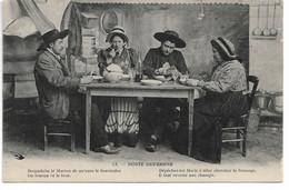 """L100H163 - Noste Ouvergne - """"Dépêche Toi Marie à Aller Chercher Le Fromage..."""" - Hirondelle N°13 - Personaggi"""