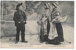 """L100H164 - Noste Ouvergne - """"Peut On Vous Accompagner Les Belles Filles?..."""" - Hirondelle N°17 - Personaggi"""