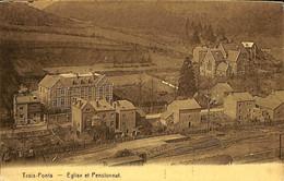 033 992 - CPA - Belgique - Trois-Ponts - Eglise Et Pensionnat - Trois-Ponts