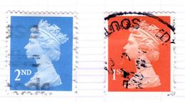 GB+ Großbritannien 1998 Mi 1747-48 Elisabeth II. - Gebruikt