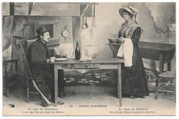 """L100H175 - Noste Ouvergne - """"Le Repas Du Chasseur.."""" - Hirondelle N°40 - Personaggi"""