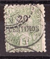 Maroc - 1893/95 - Poste Locale Mazagan à Marrakech - N° 52 Oblitéré - Poste Locali