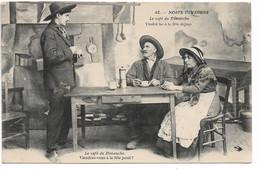"""L100H176 - Noste Ouvergne - """"Le Café Du Dimanche.."""" - Hirondelle N°42 - Personaggi"""