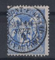 TIMBRE SAGE TYPE 1 N° 68 OBLITÉRÉ CAD De CAD De CLERMONT FERRAND (BELLE NUANCE) - PETIT PRIX - 1876-1878 Sage (Type I)