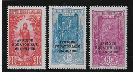 Congo N°106/108 - Neuf ** Sans Charnière - TB - Nuovi