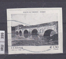 ITALIA REPUBBLICA    2014Ponte Tiberio Usato - 2011-...: Used