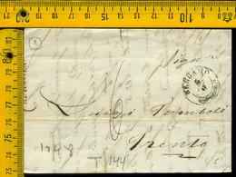 Piego Con Testo Bergamo Per Trento - 1. ...-1850 Prephilately